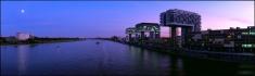 Blick von der Severinsbrücke